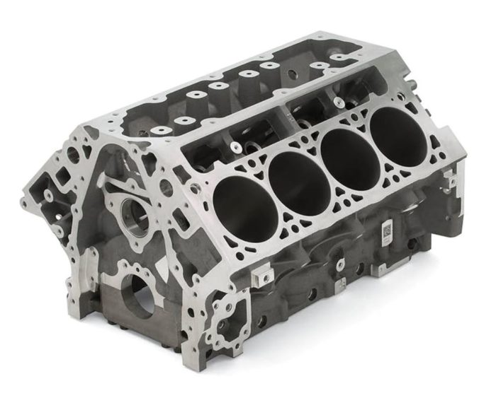 19329617 lt1 lt4 aluminum bare block