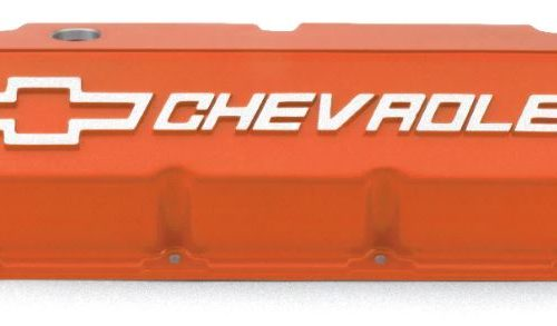 "427 CHEVROLET,"" BLACK POWDER-COAT Valve Covers 
