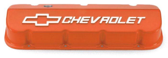 25534374 orange powder coat valve covers