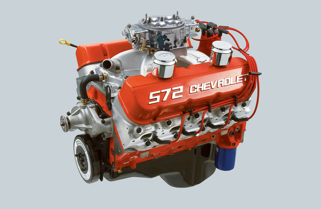 Chevrolet Performance ZZ572/720R Long Block Crate Engine 19331585