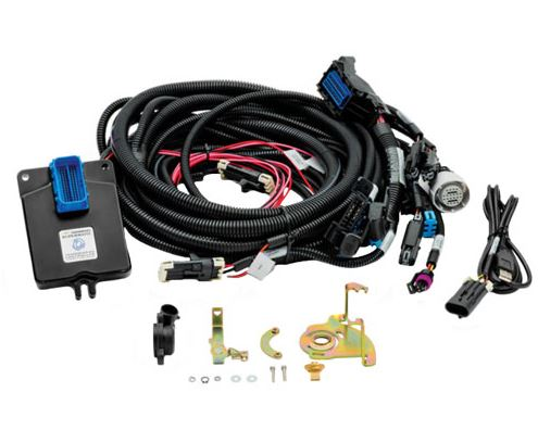 supermatic transmission control system for carbureted engines